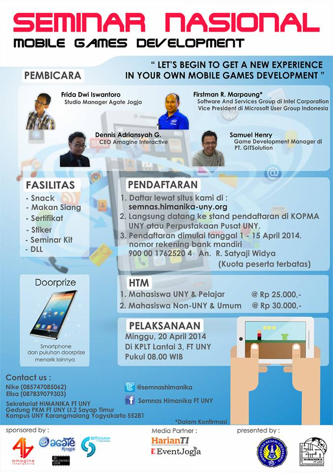 Seminar Nasional Mobile Games Development